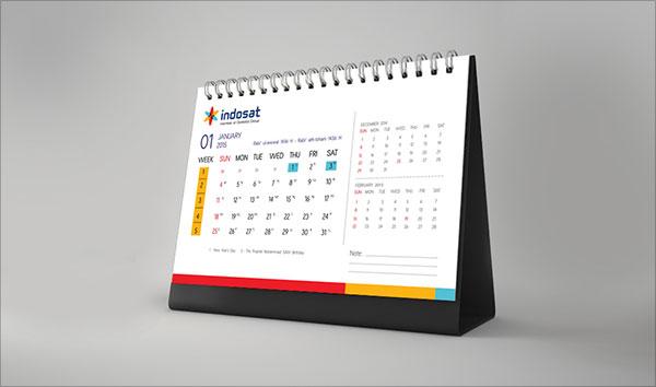 Elegant Desk Calendar Design : Calendars get free digital